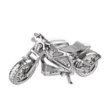 Pembalas motosikal nanyuan model 3D DIY model pemotongan laser kereta pendidikan DIY mainan Jigsaw Puzzle DIY Keseronokan logam untuk hadiah kanak-kanak