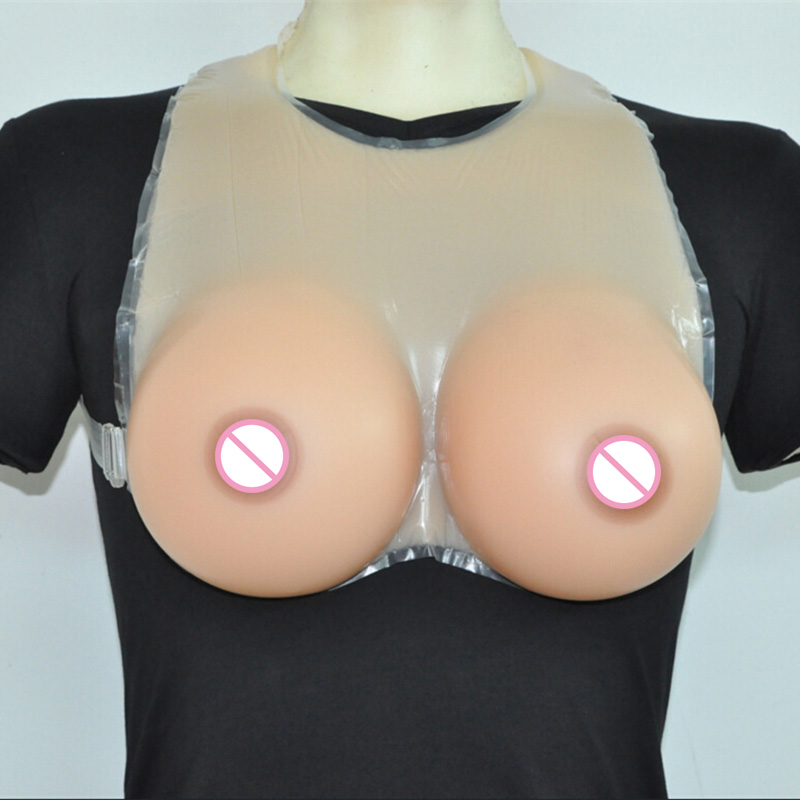 Silicone Breast Forms for Crossdresser Shemale Artificial False Boobs Transgender Drag Queen Fake Breast Dark Beige 5000g hot big g cup artificial silicon rubber boobs false breasts for shemale crossdresser man