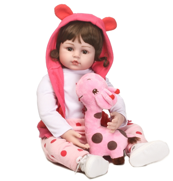 beautiful reborn baby doll hot sale doll with vinyl silicone soft touch cute hair style doll toys for children hot sale 1000g dynamic amazing diy educational toys no mess indoor magic play sand children toys mars space sand