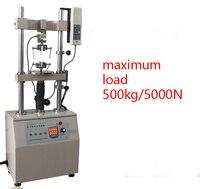 HDV-5000 Электрический двойной Вертикальная Колонка тесты стенд HDV5000 ing машина 220 мм 5000N/500 кг без Force Gauge