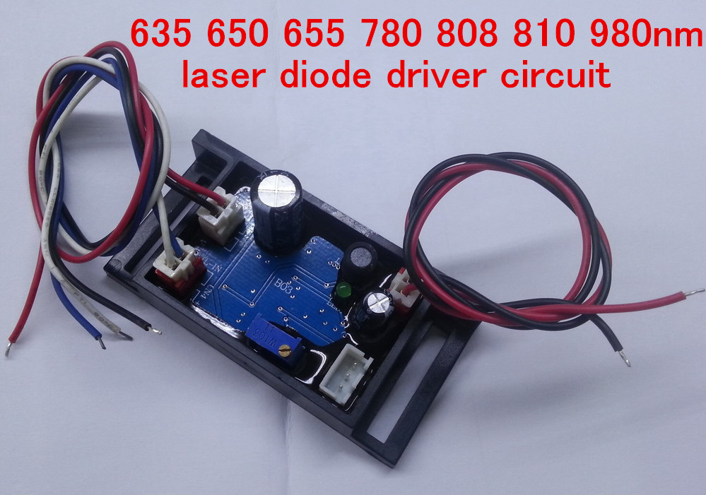 Free ship 72*35*25mm driver board  635 650 655 780 808 810 980nm laser diode driver circuitFree ship 72*35*25mm driver board  635 650 655 780 808 810 980nm laser diode driver circuit