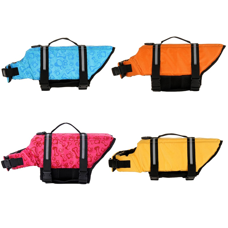 colors of the dog life jacket