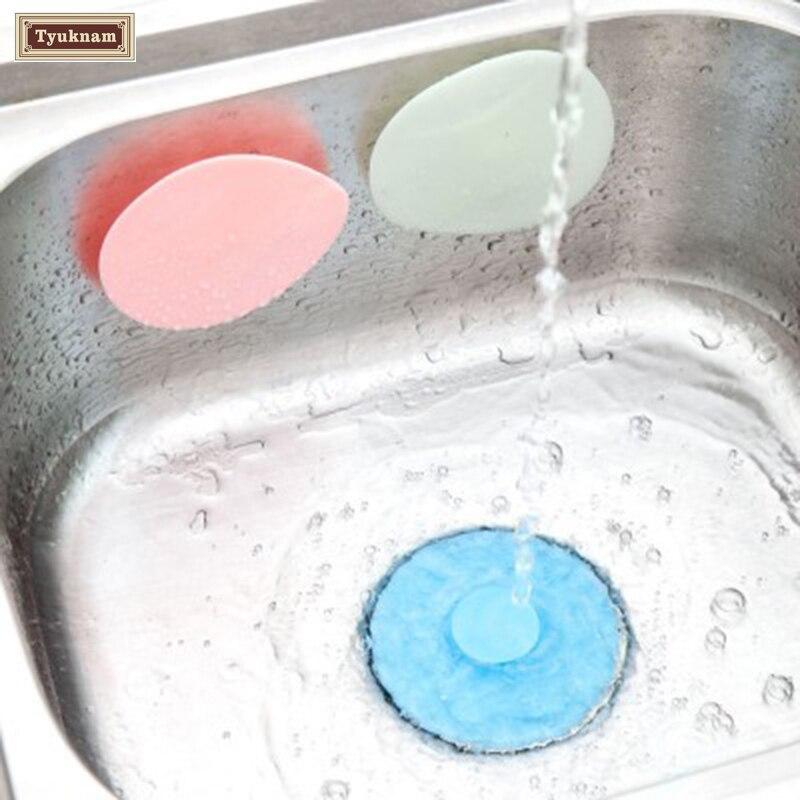 Flower Silicone Drain Cover Kitchen Water Sink Drainer