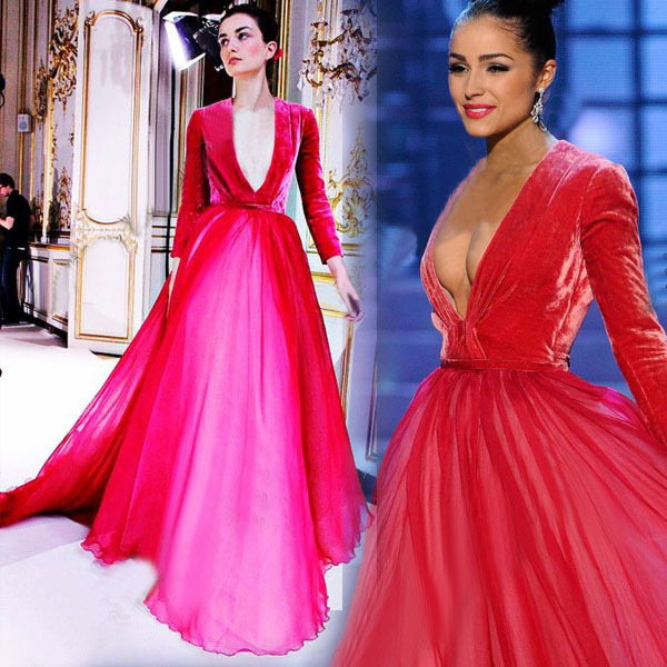 2014-Pageant-Deep-V-Neck-Long-Sleeves-Ve