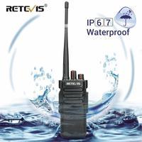 vhf uhf 10W מכשיר הקשר RETEVIS RT29 IP67 Waterproof (אופציונלי) UHF (או VHF) VOX מקצועי ארוך טווח דו סטרי משדר רדיו (1)