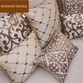 "Luxury Embroidery  Home Decor Cushion Cover  Silk Pillow Cover Decorative Throw Pillows Pillowcase Pillowsham  18""/20""/24"""