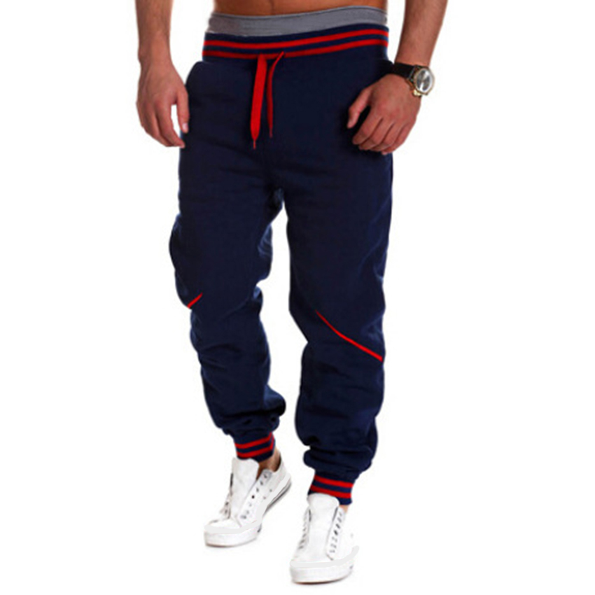 Men Hip Hop Pants Harem Joggers Pants 2018 Male Trousers Mens Joggers Solid Casual Pants Sweatpants Streetwear Hi-street Pan ...