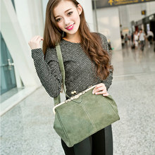 Bolish retro PU leather women handbag small shoulder bag high quality tote bag small clutch messenger bag