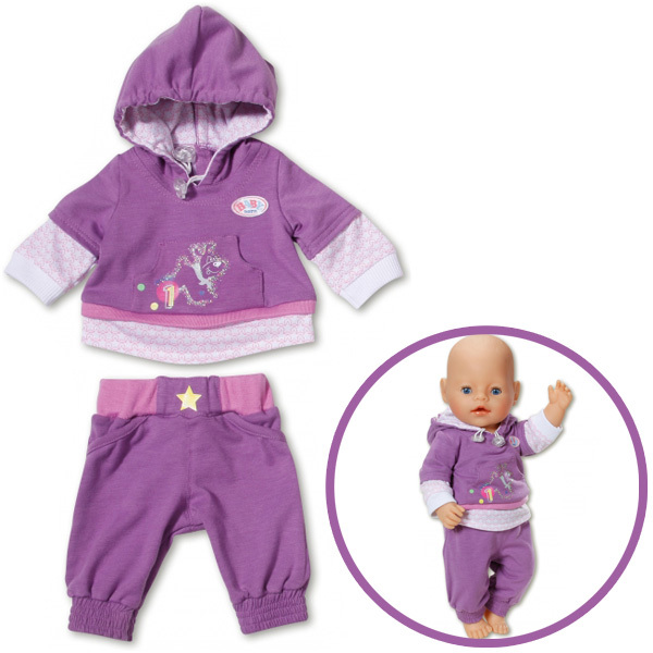 New Doll Clothes Sport Wear Fit 43cm Baby Born Zapf Doll