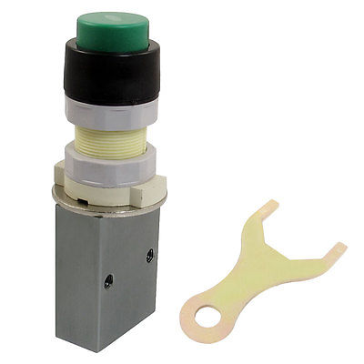 "1/4"" PT Thread Three Way Two Position Momentary Mechanical Valve S3PP-08"