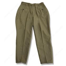 S армии кавалерия BreechesTrousers хлопок брюки Army green Как pic-США/4555296