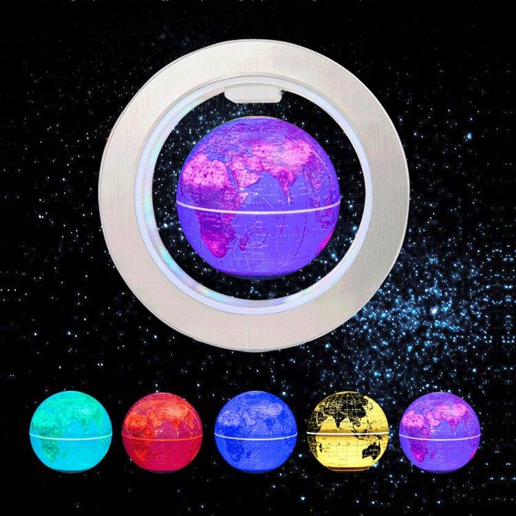 Купить с кэшбэком Novelty gifts Round LED Floating Globe Magnetic Levitation Light Antigravity ideas  Lamp bola de plasma Dec plasma ball electric