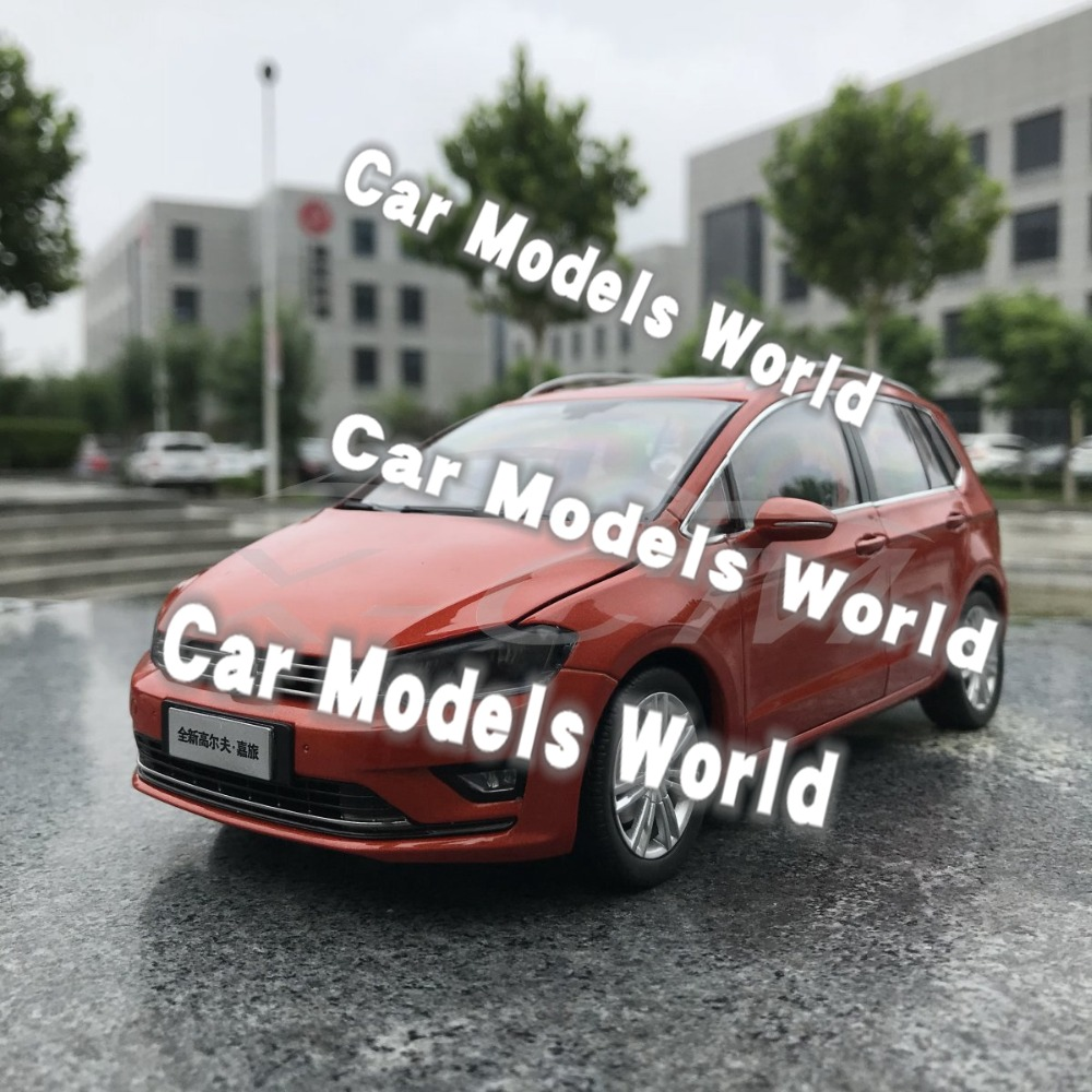 Odlany model samochodu dla Golf Sportsvan (pomarańczowy) 1:18 + mały prezent!!!! w Odlewane i zabawkowe pojazdy od Zabawki i hobby na  Grupa 1
