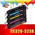 Совместимость 128A/320 320a CE320A CE321A CE322A CE323A ЦВЕТНОЙ Тонер-Картридж для HP CP1525N CM1415FN 1525NW 1415FNW Принтеры