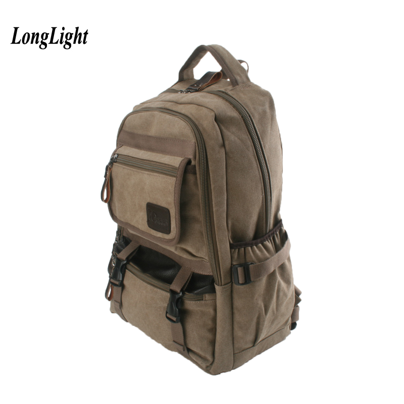 Cotton Retro Canvas Backpack Outdoor Rucksack Vintage Daypack Personalized Travel Bag School Bag Satchel