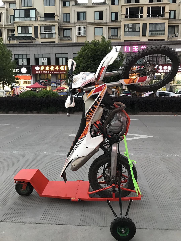 Dirt Bike Motorcycle Wheelie Trainer Cage Off-road Training