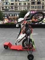 Dirt Bike Motorrad Wheelie Trainer Käfig Off-road Ausbildung