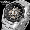 Winner Watch Men Skeleton Automatic Mechanical Watch Gold Skeleton Vintage Watch Skeleton Man Watch Mens Watch