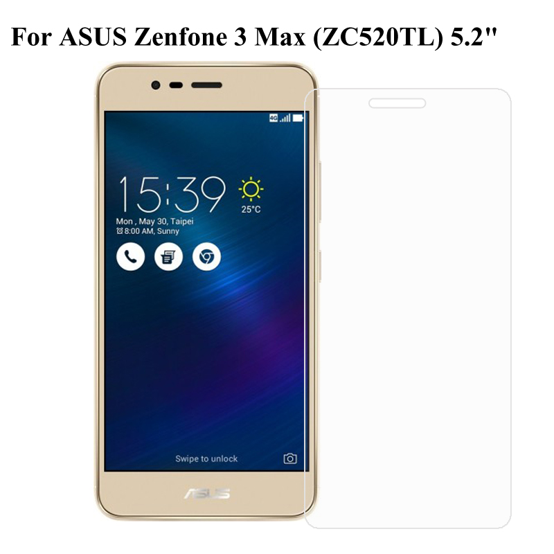 <font><b>Asus</b></font> <font><b>ZenFone</b></font> 3 Max ZC520TL Tempered <font><b>Glass</b></font> Safety Protective Screen Protector Film On <font><b>ZenFone</b></font> 3 Max ZC520 TL <font><b>X008D</b></font> 5.2