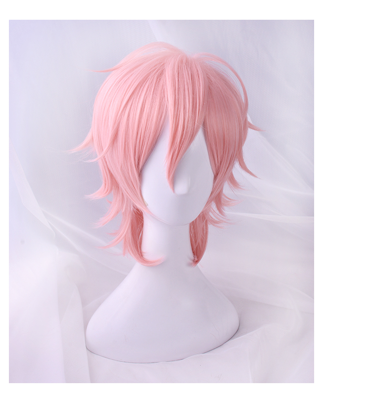 Image 2 - 2018 Anime Cosplay Yarichin Bitch Bu Club Ayato Yuri Pink Wig Cosplay Halloween  Role Playing-in Anime Costumes from Novelty & Special Use