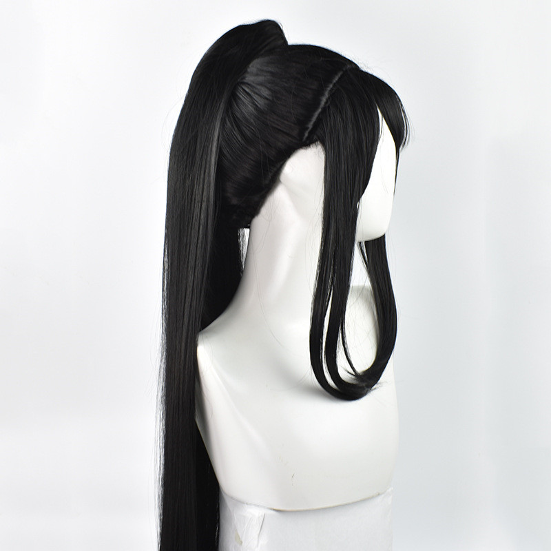 Image 4 - Grandmaster of Demonic Cultivation Xue Yang Xiao Xing Chen Cosplay Wig Chinese Anime Magic Ancestors Cosplay Black Long Hair Wig-in Anime Costumes from Novelty & Special Use