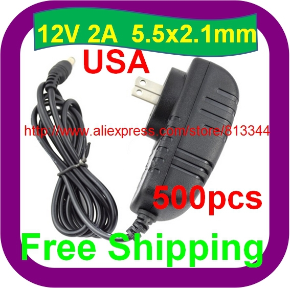 Laptop Accessories Cheap Sale Us Plug 12v 2a Power Supply Ac 100-240v To Dc Adapter Plug For 3528 5050 Strip Led Computer & Office