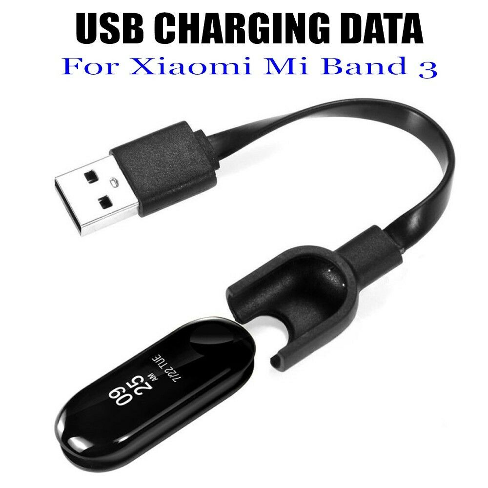 Charger Cable For Mi Band 3 Tpe USB DATA Cradle Dock Charging Cable For Xiao Mi 3 Smart Wristband Bracelet Charging Cables