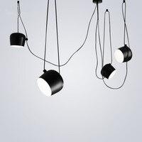 Modern Pendant Light LED pendant lamp Multipoint Hanging Lamp For Living Room Kitchen Fixtures Luminaire Lighting black lights
