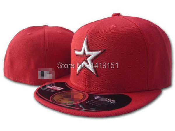 quality design bcdcc 5c185 Houston Astros Caps Football Fitted Hats Size~Basketball Closed Caps size~ Baseball Closed Hats 7 71 8 71 4 73 8 71 2 75 8 73 4 8