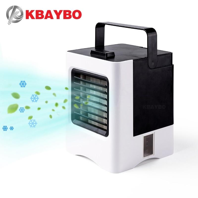 KBAYBO Pessoal USB Ventilador de Ar Condicionado Portátil Mini refrigerador de Ar-Área De Trabalho De Ar Condicionado Ventilador de Refrigeração Refrigerador de Ar Móvel