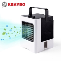 KBAYBO USB Personal Portable Air Conditioner Fan Mini Air cooler Desktop Air Cooler Refrigeration Mobile Air Conditioning Fan