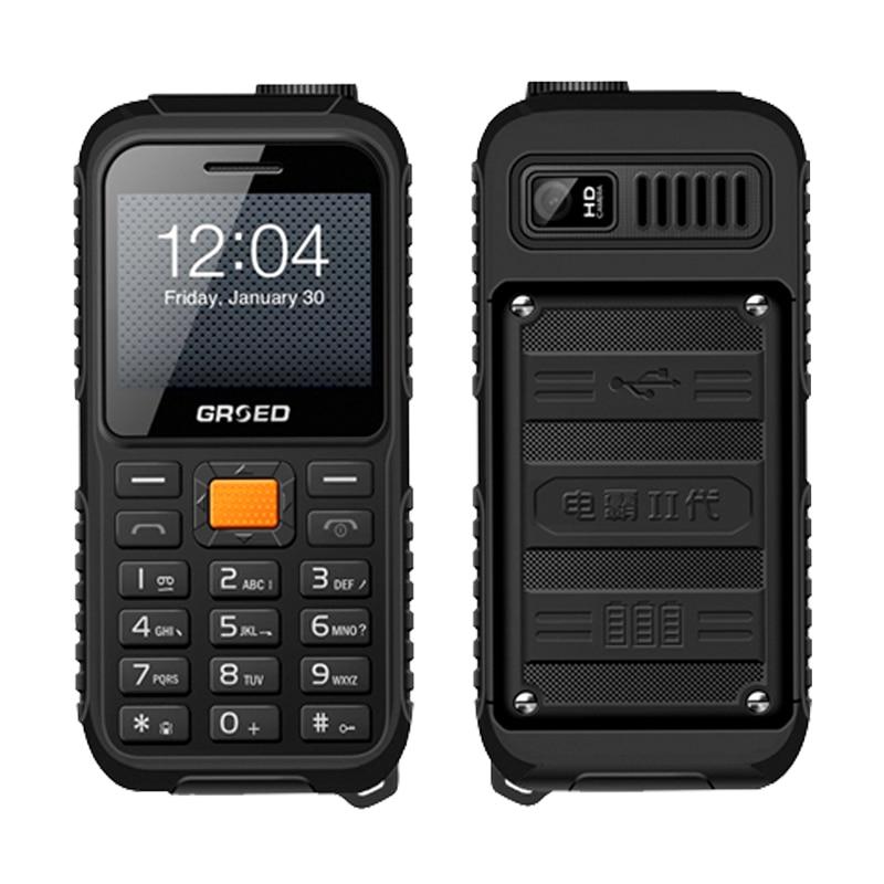 Spanish,Polish,Turkish 8800mAh shockproof power bank charge torch FM BOX speaker Vibration Dual SIM mobile phone E8000 P510 ...