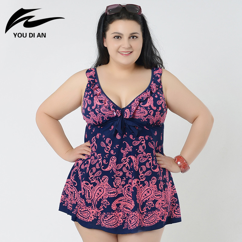 print summer dress plus size one piece swimsuit 2016 Sexy plus size One Piece Swimwear Female bathing suit new 8XL beach wear plus size letter print hooded sweatshirt dress