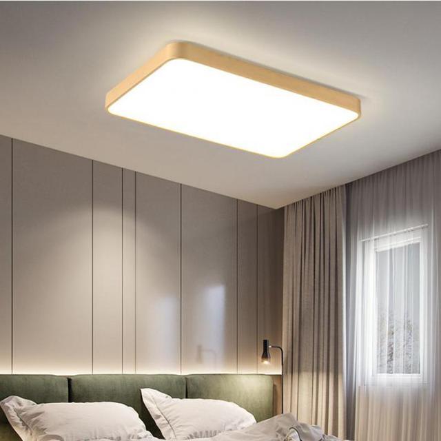 Office Ultra-thin Led Copper ceiling Lighting Living Room Rectangular Bedroom Restaurant Studio led reading surface ceiling lamp
