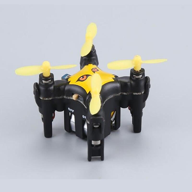 2018 poche chaude MINI RC Drone garçon jouet 2.4G 6 axes gyroscope une clé démarrage 3D rouleau capteur de gravité RC quadrirotor hélicoptère meilleur cadeau