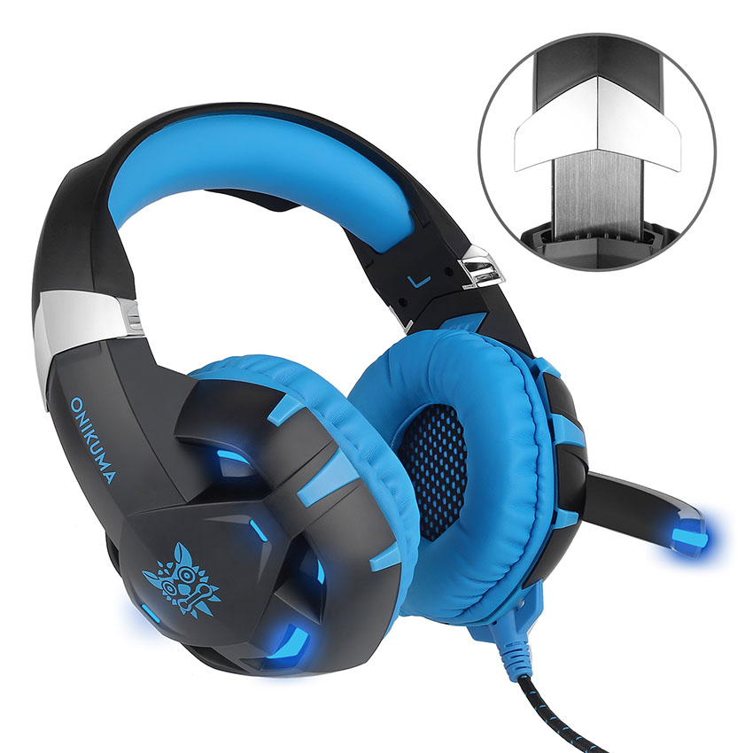 SOKELY K2 Gaming Headphones casque 7.1 Channel Sound Stereo USB Wired Headset with Microphone Mic for Computer Gamer