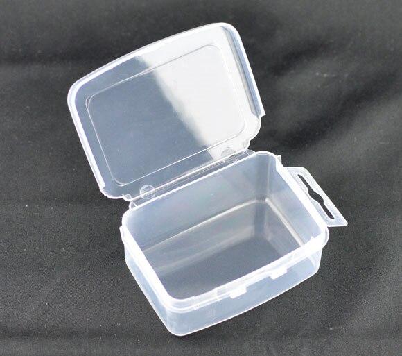 Perlen & Schmuck Machen b09155 Beliebte Marke Doreen Box Hot 6 Klar Perlen Anzeige Vorratsdose 73x55x29mm