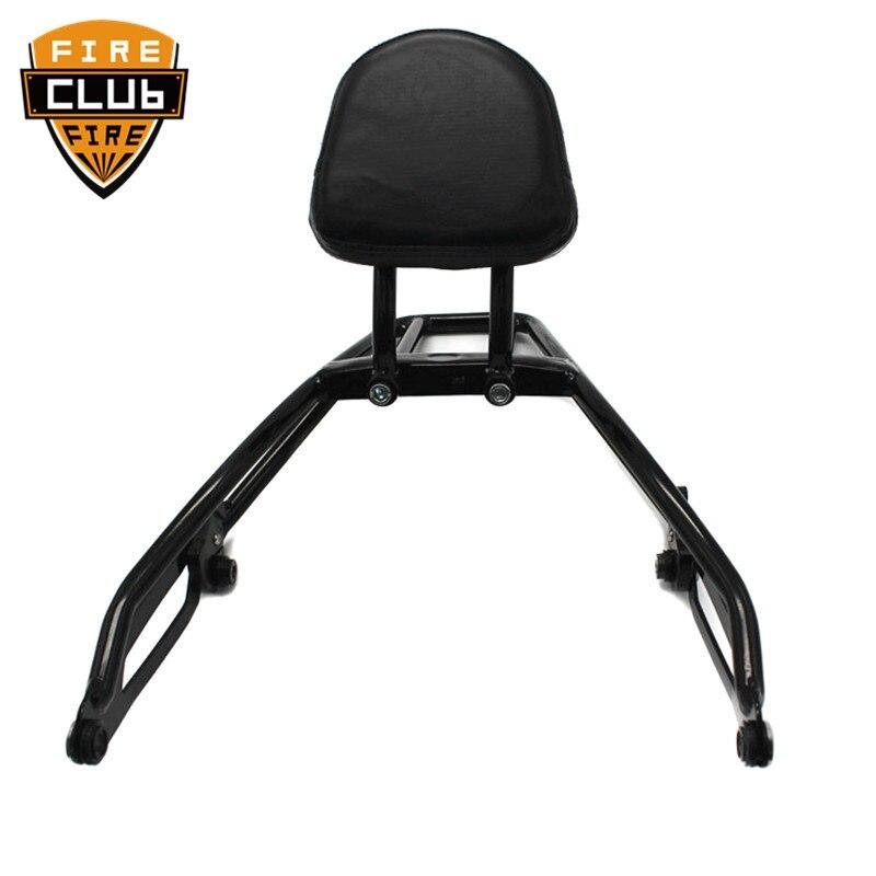 For Harley Street 500 750 XG500 XG750 15 16 17 Backrest Sissybar W/ Luggage Rack 2015-2017