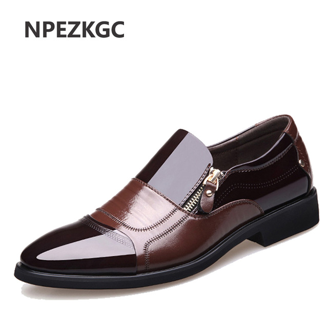 view sale online original for sale Business Men Shoes Genuine Leather High Quality Soft Casual Breathable Flats hCu1Zg4