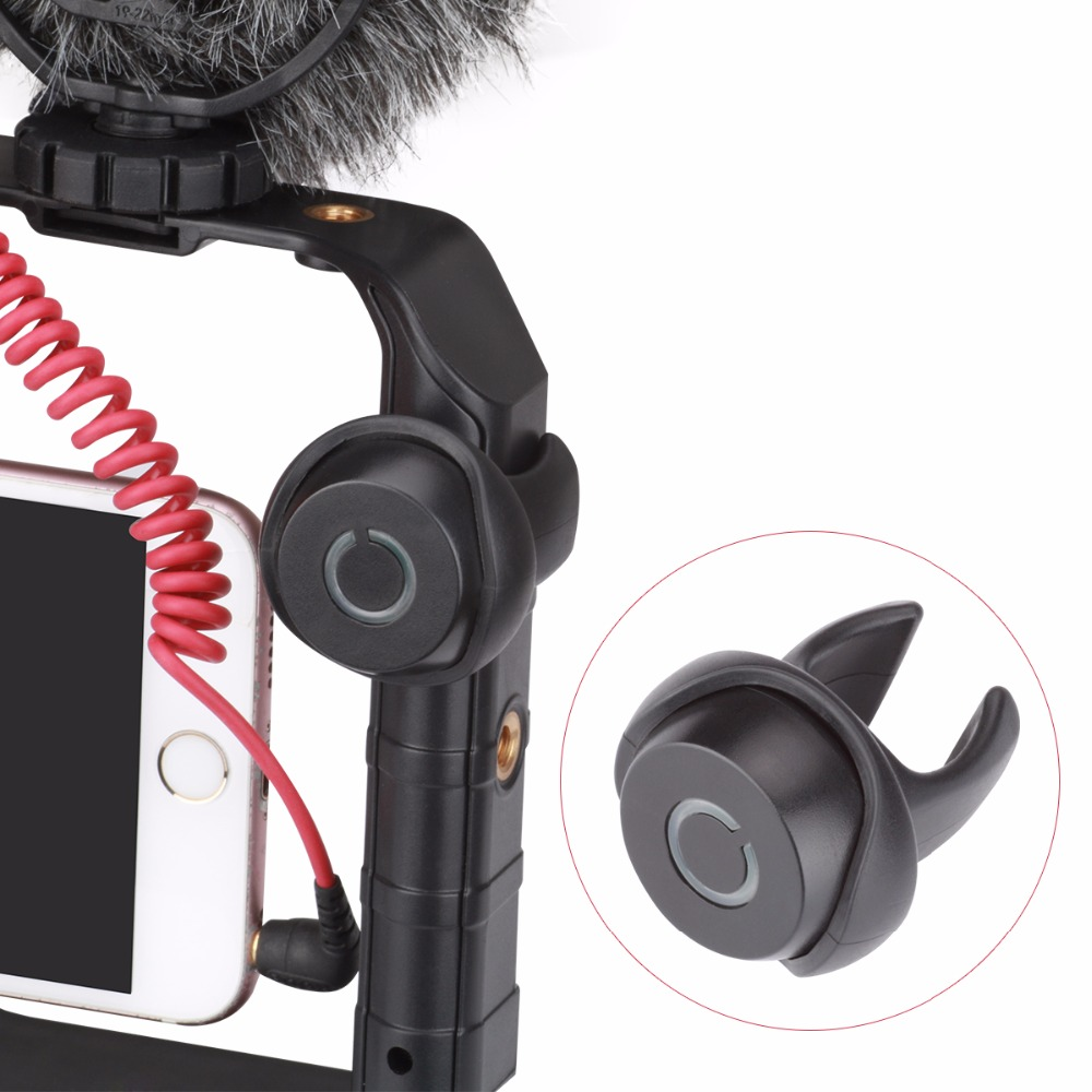 Useful Phone U-rig Professional Bluetooth Remote Control Clip-on Wireless Shutter Release For Smartphone Video Shooting Easy To Repair