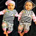 Baby Girls One Piece Hoodies Romper New Born Girls Floral Clothes Wear Lovely Cotton outfits