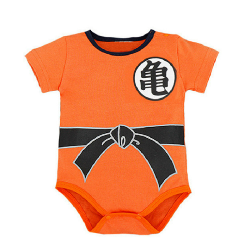 Dragon Ball Z Newborn Baby Clothing Goku Baby Boy Little Girl Romper Clothes Long Sleeve Infant Clothes Baby Jumpsuits