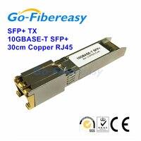 100% новый 10GBase T SFP + модуль приемопередатчика RJ 45 Медь 30 метров