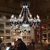 Black Crystal Chandeliers Led Transparent Crystal Light Modern Black Chandelier Crystal Pendants Modern Led Chandelier Kitchen