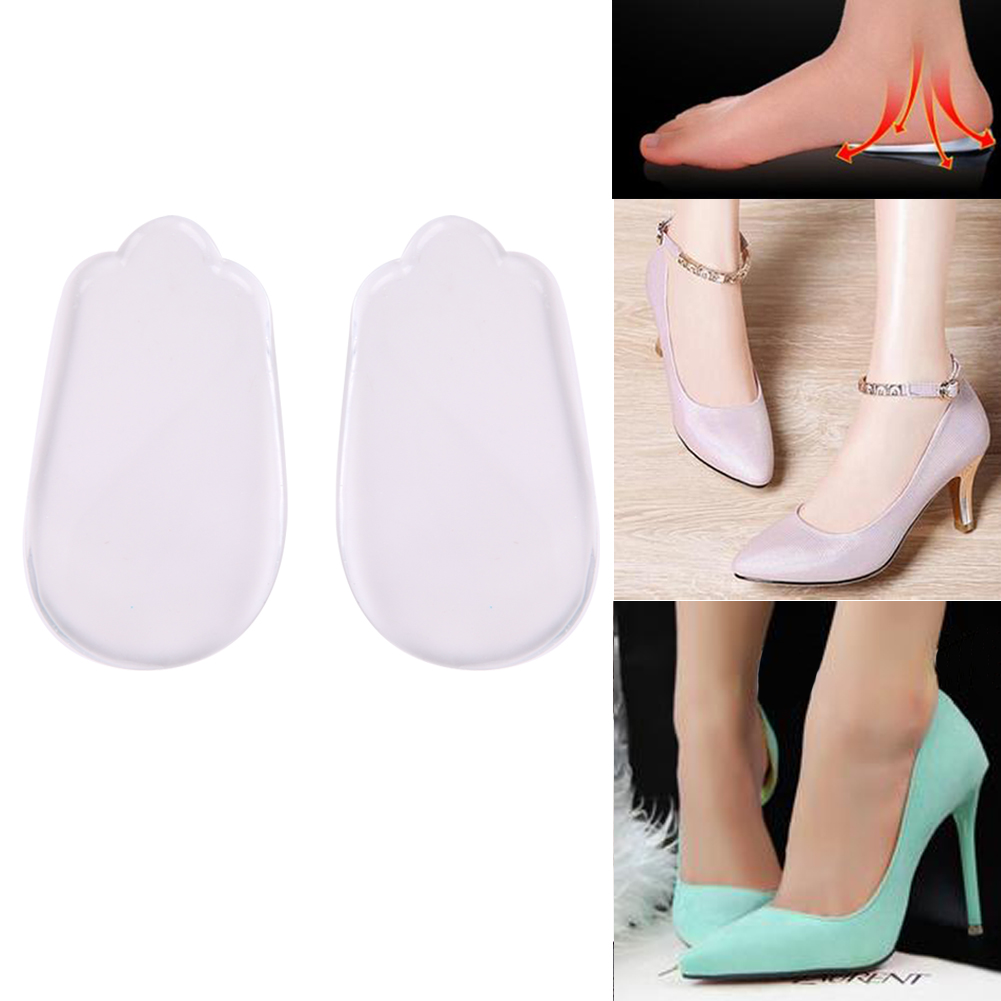 New Silicone Men Women O/X Legs Correction Orthotics Foot Arch Support Orthopedic Correction Pad Insoles