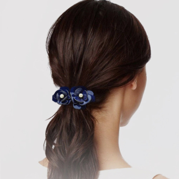 Women Hair Accessories Flower Hair Clip Elegant Pearl 1