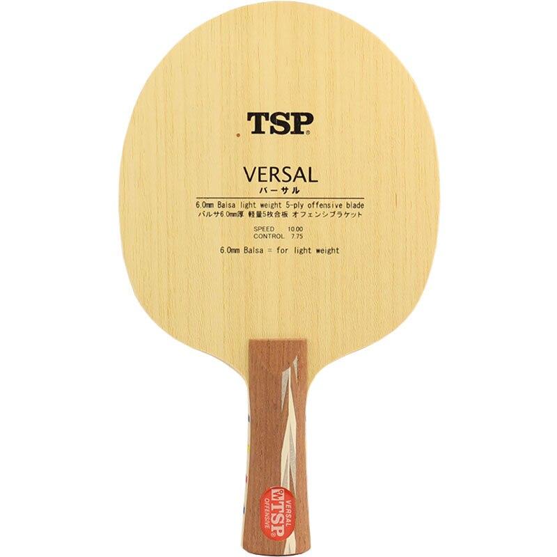 TSP VERSAL Table Tennis Blade (Balsa Light Weight Offensive) Racket Ping Pong Bat