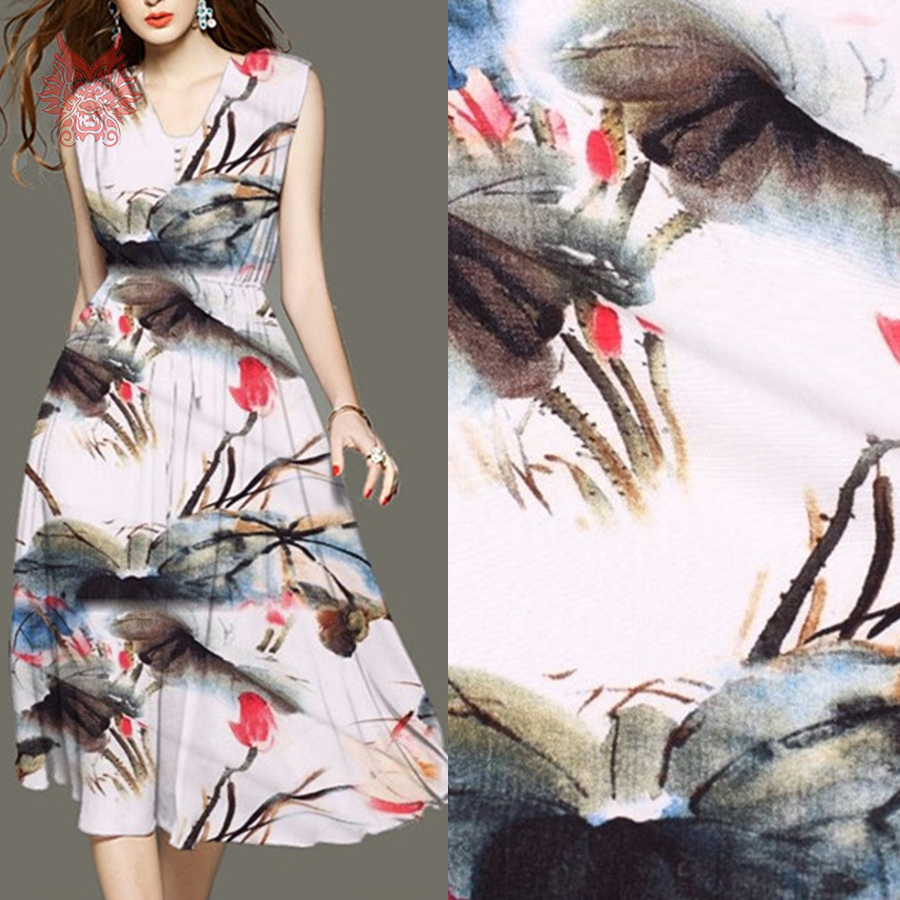 Aliexpress.com : Buy American style ink floral print fake