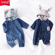 Iyeal для маленьких мальчиков Детский комбинезон девочек с принтом