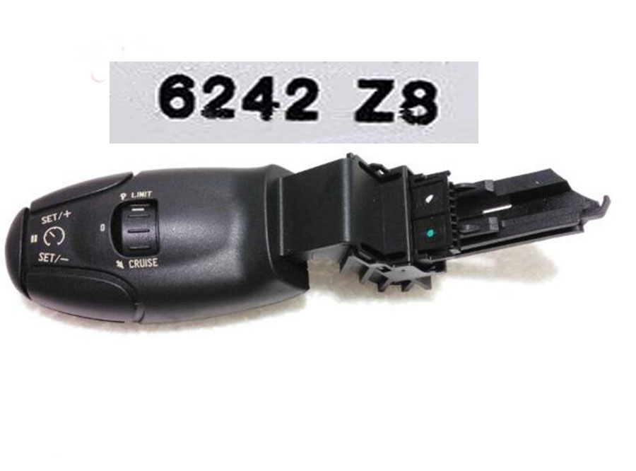 OE#6242Z8 FREESHIPING car switch cruise control switch for peugeot 307 207 308 407 607 3008 for <font><b>citroen</b></font> xsara <font><b>berlingo</b></font> c3 c5 c8 image
